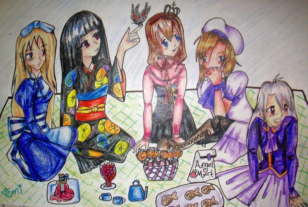 Creepy Little Girls Picnic