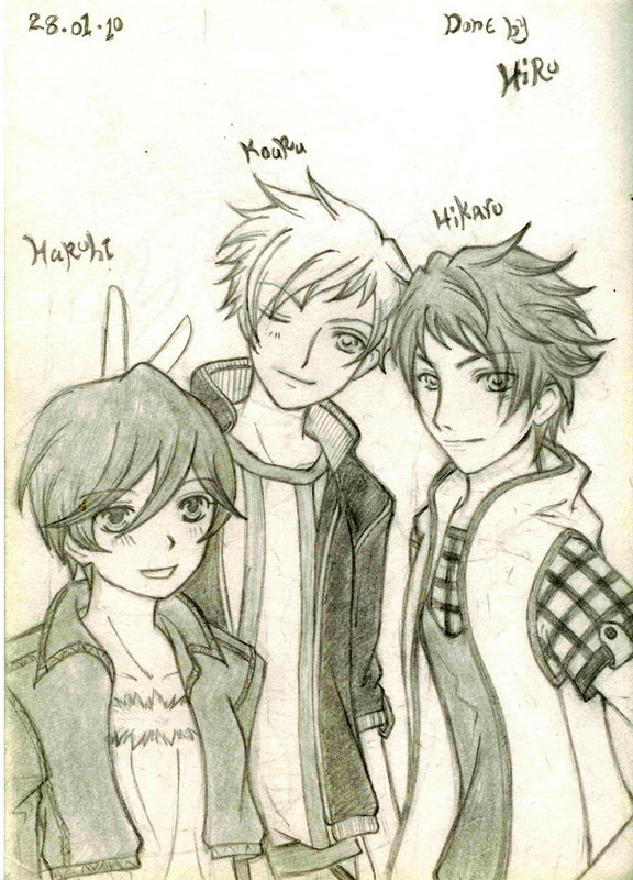 my fav characters at ouran