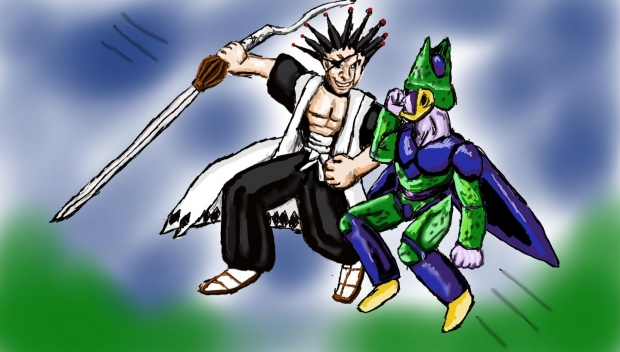 Kenpachi Vs Cell