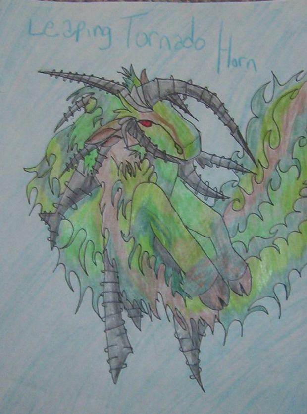 Leaping Tornado Horn(duel Masters)