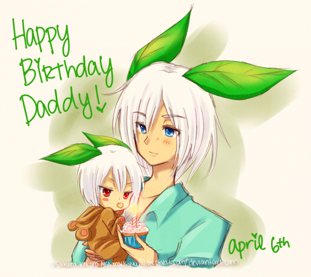 Happy Birthday, Daddy~