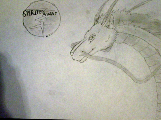 Spirited Away Dragon