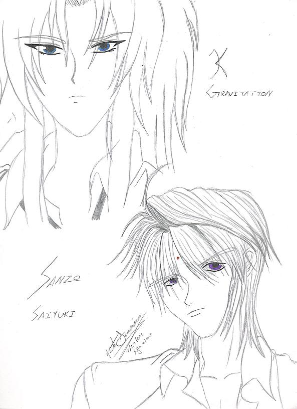 Mr. K & Sanzo-sama