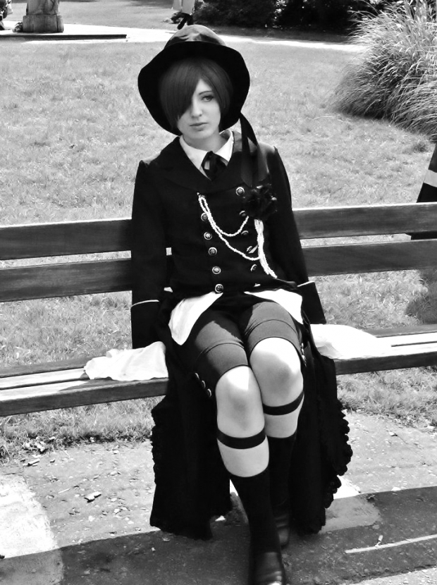 Ciel phantomhive  - contemplating