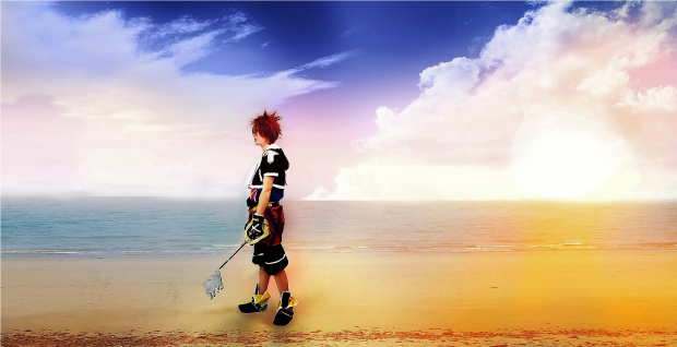 Sora cosplay 2