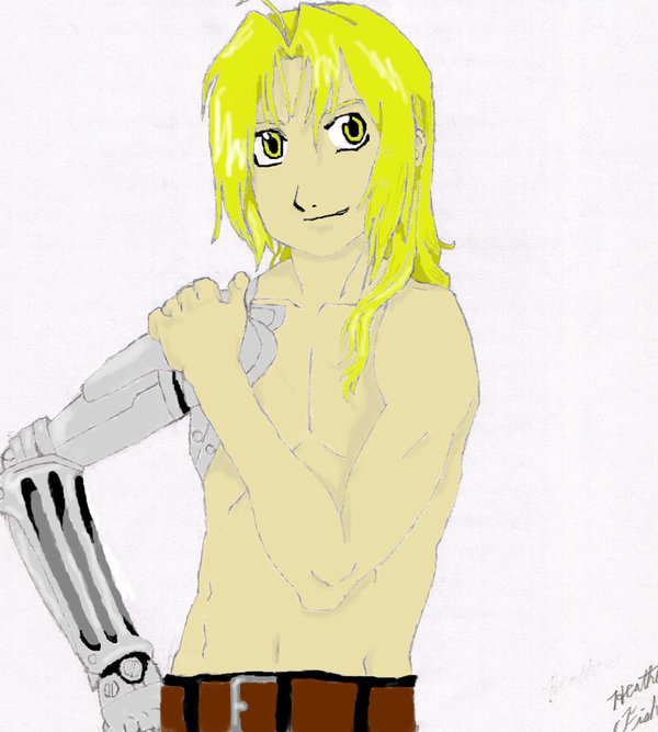 Ed Elric- Colored