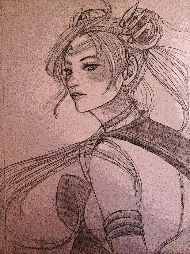Sailor Moon sketch