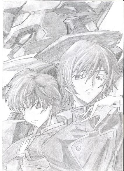 Code Geass (shaded)