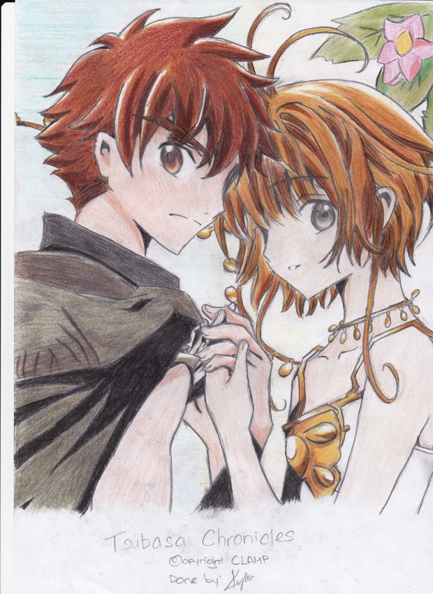 Tsubasa Chronicles - Coloured (Shaoran &amp; Sakura)