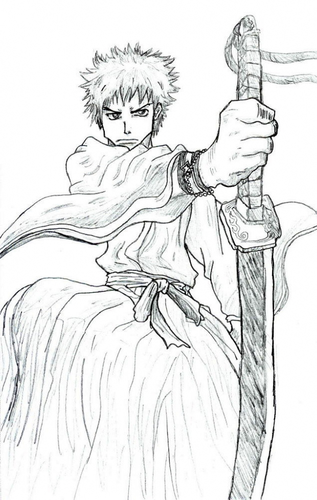 Bleach- Ichigo The Soul Reaper