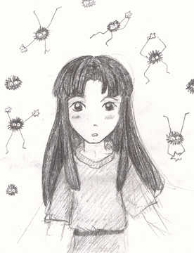 Young Lin With Susuwatari