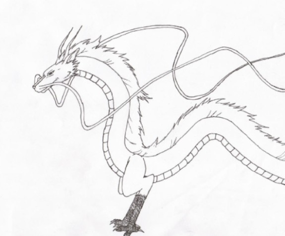 Haku (dragon Form)