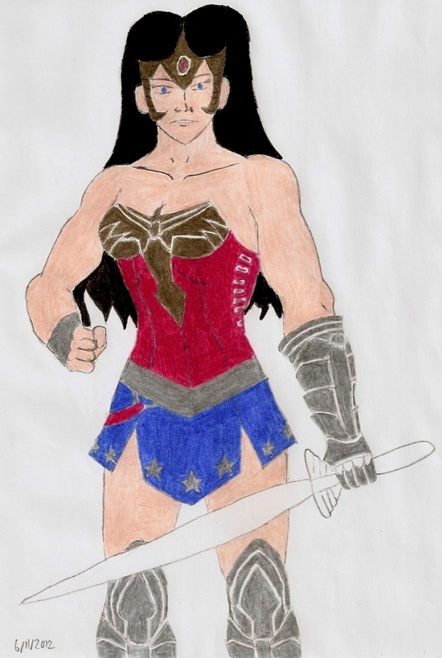 Earth-2 Wonder Woman 2012