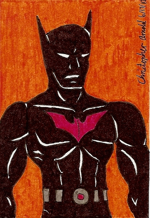 Earth-12 Batman Sketch Card