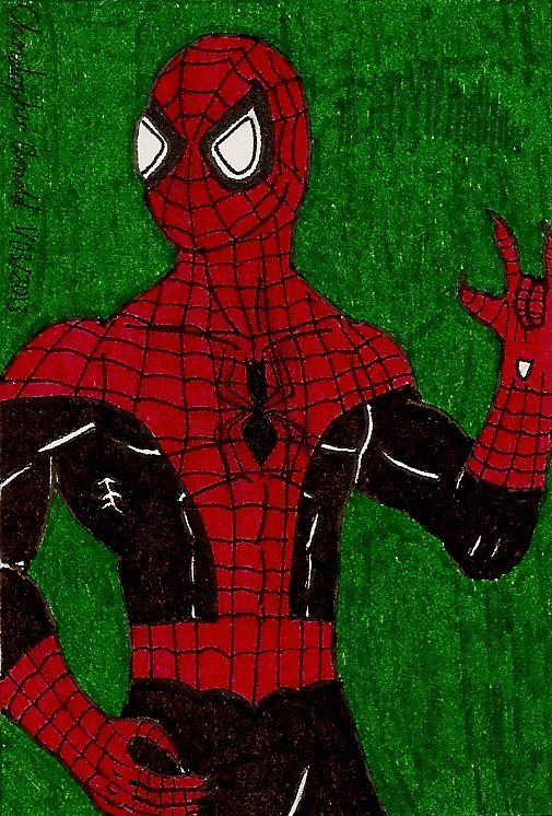 Spider-Man III Sketch Card