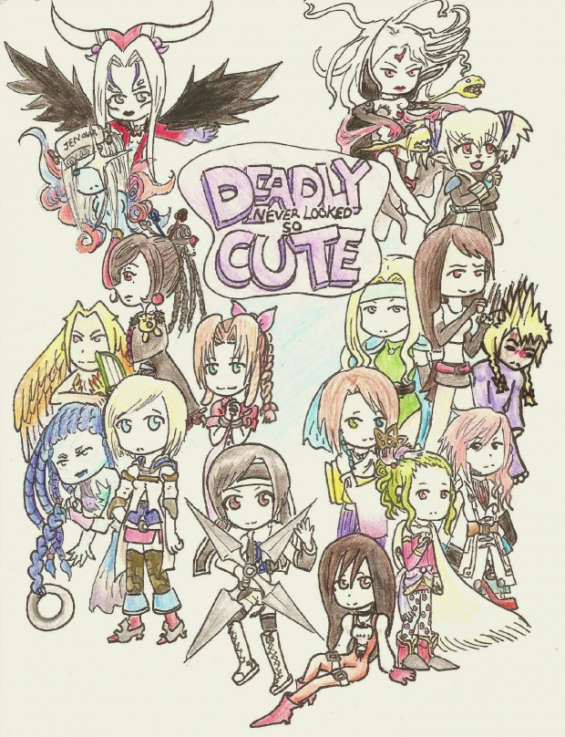 Deadly Never Looked so Cute