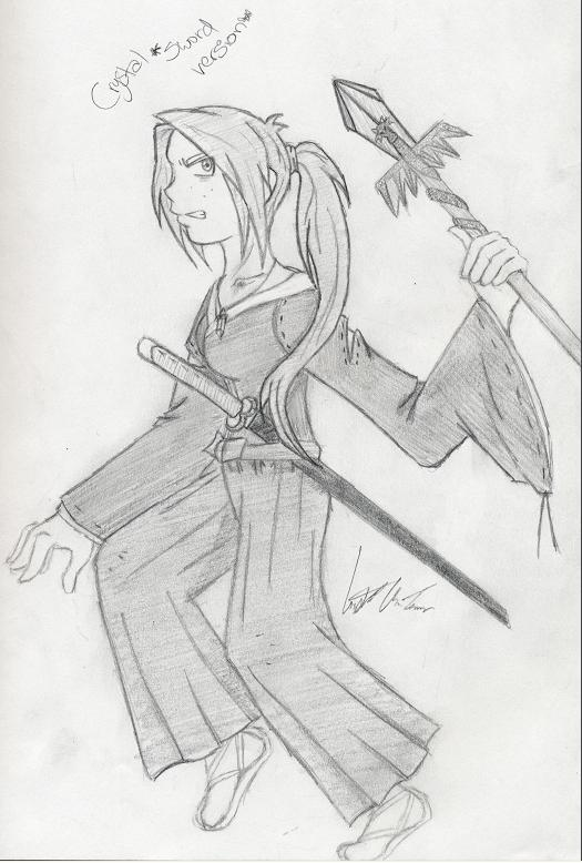 My Character-sword Version Xd