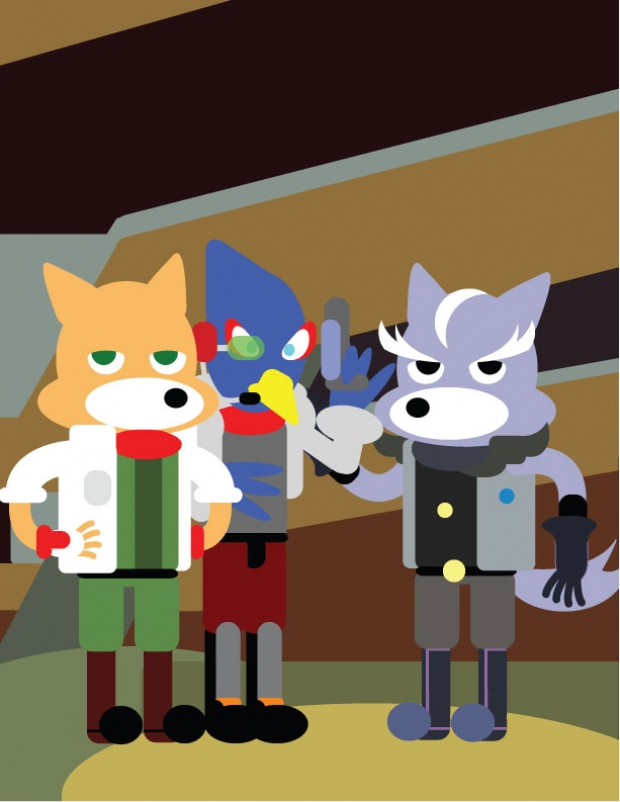 Foxy Friends and an Enemy