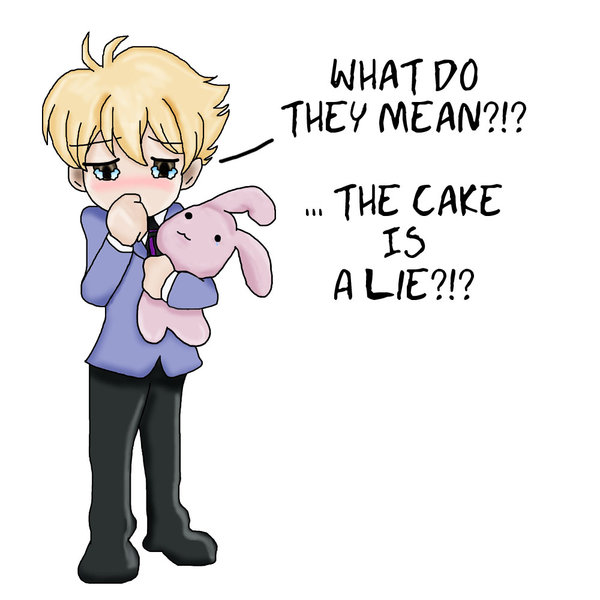 The Cake is Hani-Sempai