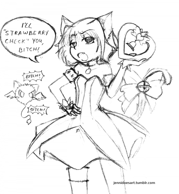 Bitchy Mew Ichigo