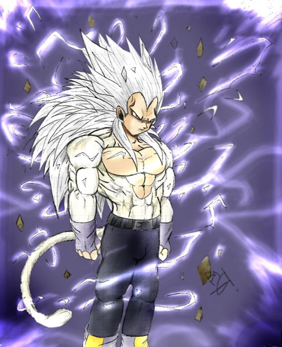 Vegeta Ssj5 by dba GT ...