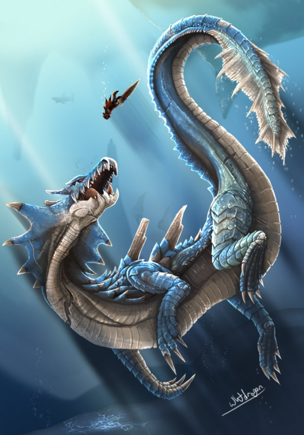 Lagiacrus' Fight