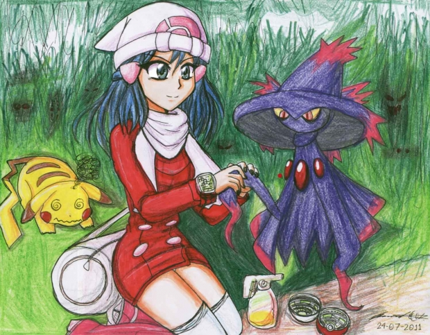 Dawn and Mismagius