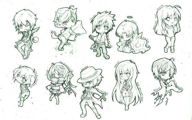 chibi sketch requests