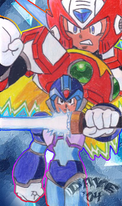 Rock Man And Zero (X6)