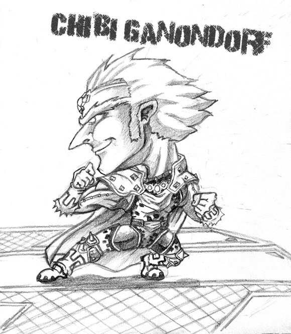 ganondorf coloring pages - photo#37