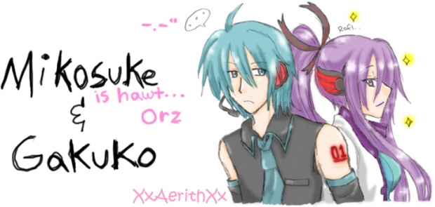 Gender-Bender Miku &amp; Gakupo