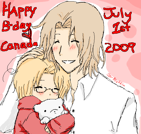 HAPPY BIRTHDAY, CANADA