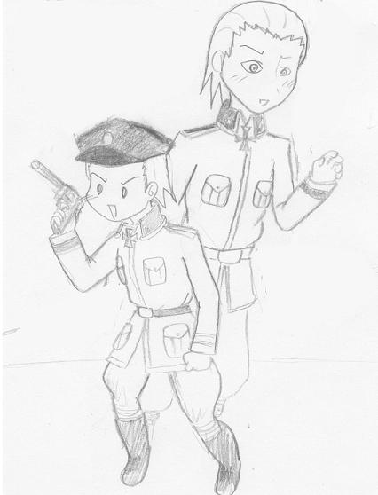 chibi hidan (in uniform X3)