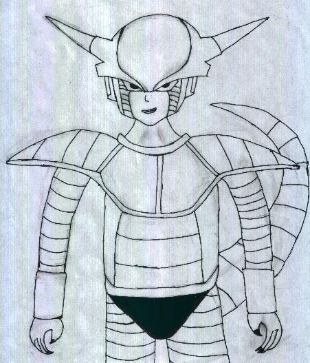 Frieza. First Form.