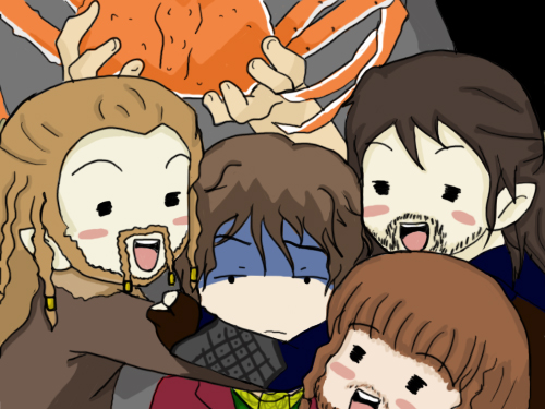 The Hobbit: Ouran Style
