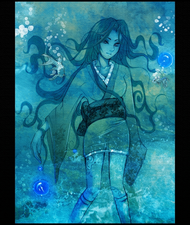 Water Girl - HAPPY NEW YEAR xD