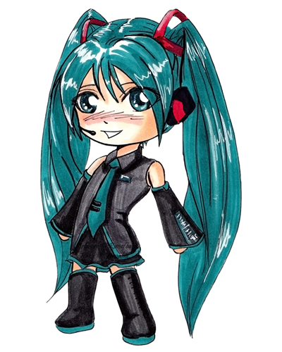 Hatsune Miku Chibi