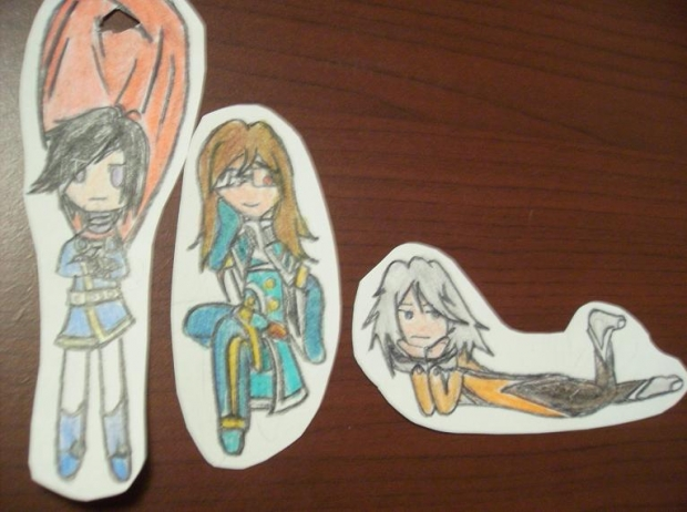 Ornaments Batch #3, Leon, Jade, and Raine