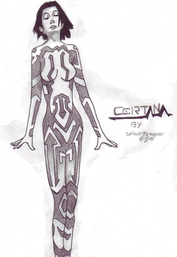 Cortana From Halo Graphic Novel