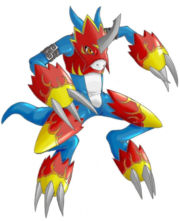 Digimon Flamedramon Di...