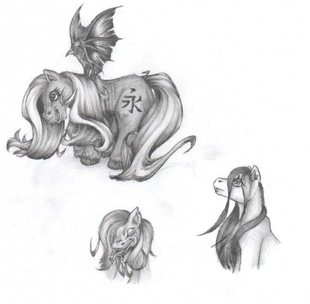 "My ""Evil"" Pony Designs"