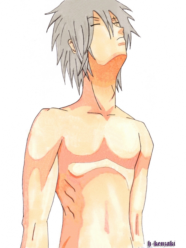 kakashi after the bath