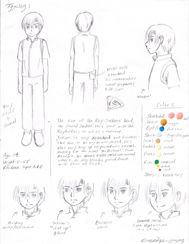 Ref Sheet: Takumi