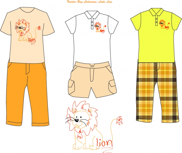 little lion clothes.