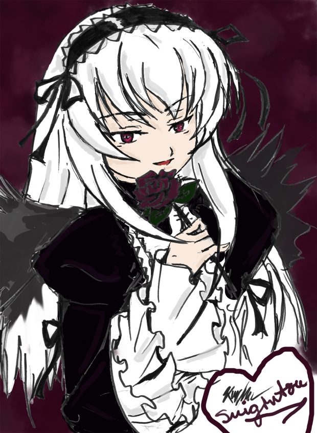 Suigintou [colored].