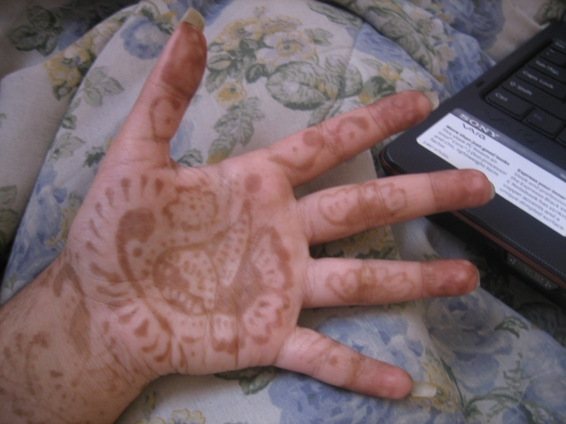 Finished Mehndi