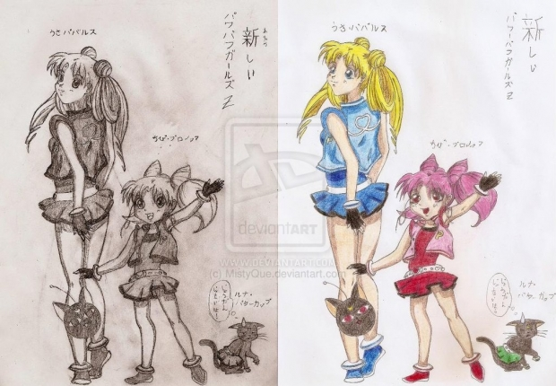 The New Powerpuff Girls z - comparison