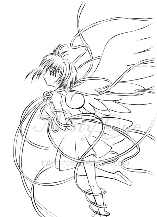 Card Captor Sakura Lineart
