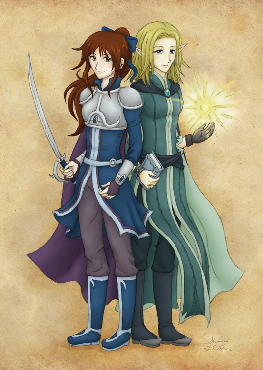 The Legionnaire and the Elf-Mage