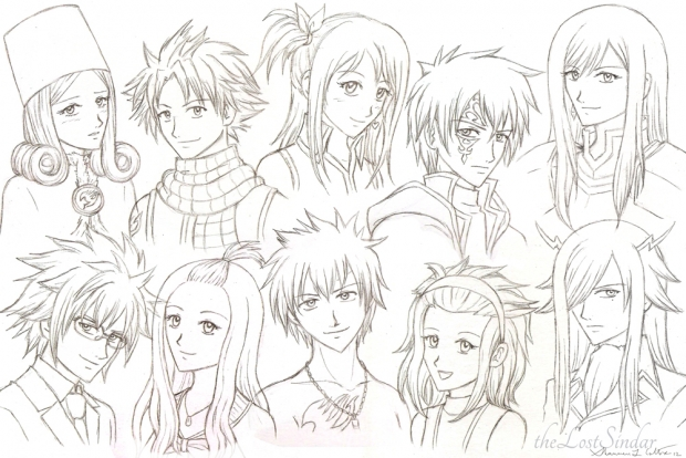 Fairy Tail Sketches